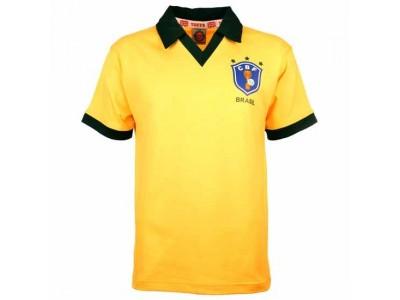 Brasilien 1986 VM Retro Fodboldtrøje