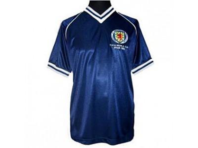 Skotland retrotrøje - VM 1982