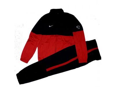 poly club træningsdragt 2010/11 - sort rød - børn