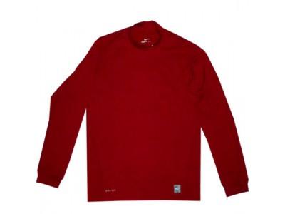 Pro Combat tætsiddende thermo trøje høj hals - rød