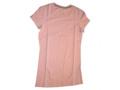 rund hals t-shirt til kvinder - pink