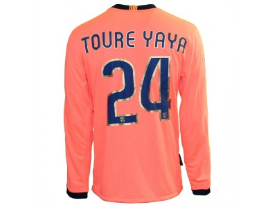 FC Barcelona ude trøje L/Æ 2009/10 - Yaya 24