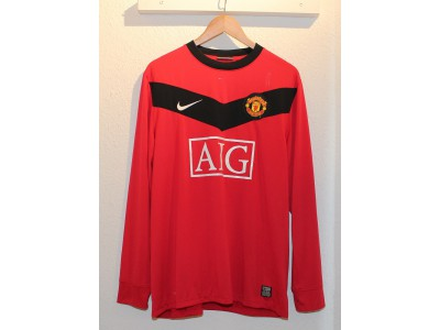 Manchester United hjemme trøje L/Æ 2009/10 - Nani 17