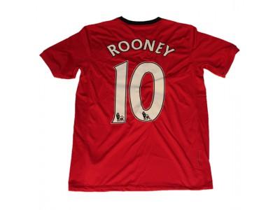 Manchester United hjemme trøje børn - Rooney 10