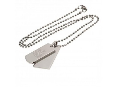 Newcastle United - NUFC Double Dog Tag & Chain