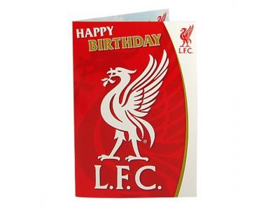 Liverpool fødselsdagskort - Musical Birthday Card