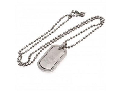West Ham snor og skilt hund - Framed Dog Tag & Chain CT