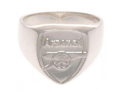 Arsenal ring - Sterling Silver Ring - Medium