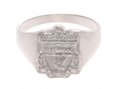 Liverpool ring - LFC Sterling Silver Ring - Small