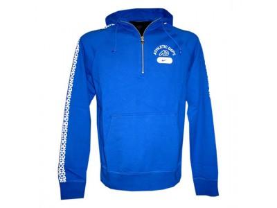 hætte trøje - mænd - blå