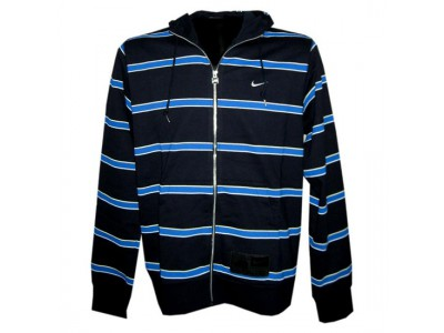 hætte trøje - mænd - mørkeblå