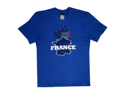 Frankrig t-shirt Ribery 7 VM 2010 - blå