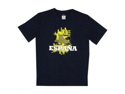 Spanien t-shirt Cesc 10 VM 2010 Fabregas 10 - mørkeblå