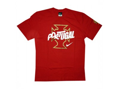Portugal tee federation World Cup 2010 - red