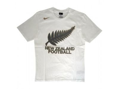New Zealand tee All Whites VM 2010 - hvid