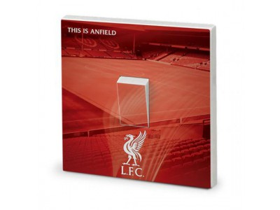 Liverpool FC lyskontakt - Light Switch Skin