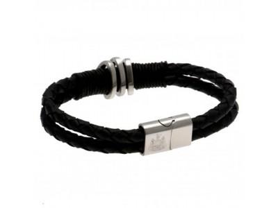 Newcastle United armbånd - NUFC Leather Bracelet