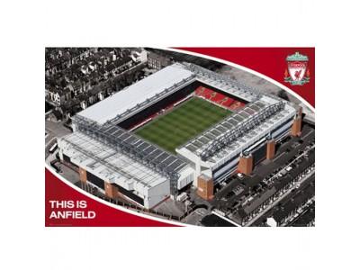 Liverpool FC plakat - Poster Stadium 13