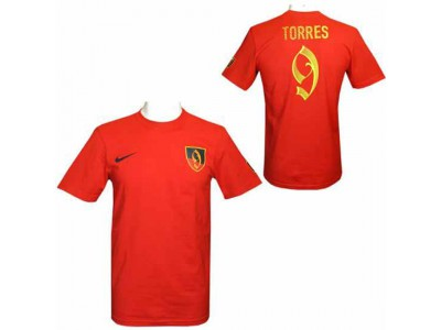 Atletico Madrid - ATM FC Torres Nike Hero T Shirt Mens - XL