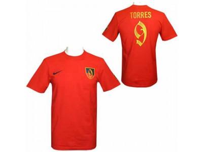 Atletico Madrid - ATM FC Torres Nike Hero T Shirt Mens - XL