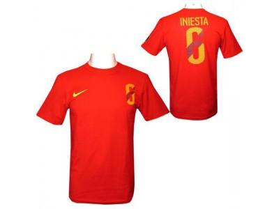FC Barcelona t-shirt - Iniesta Nike Hero T Shirt Mens L