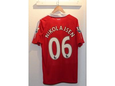 Manchester United hjemme trøje 2010/11 - Nikolajsen 06