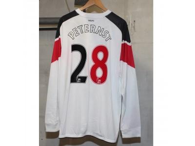 Manchester United ude trøje L/Æ 2010/11 - PetErnst 28