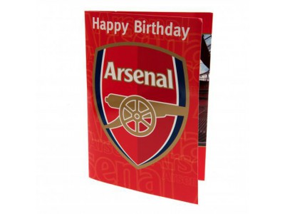 Arsenal fødselsdagskort - Musical Birthday Card