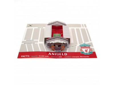 Liverpool FC fødselsdagskort - Pop-Up Birthday Card