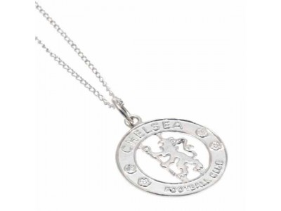 Chelsea - Sterling Silver Pendant & Chain CR