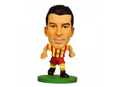 FC Barcelona figur - SoccerStarz Pedro Away