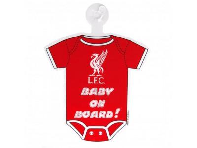 Liverpool skilt - LFC Baby On Board Sign