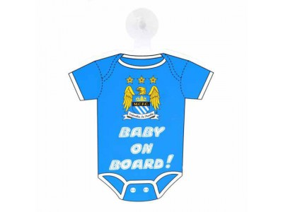Manchester City FC Baby On Board