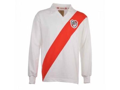 River Plate 1960erne-1970erne Retro Fodboldtrøje