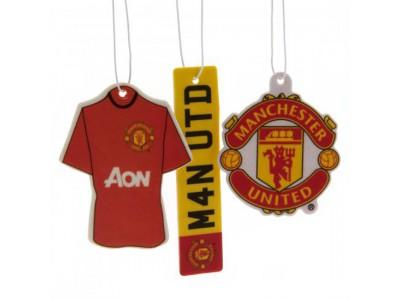Manchester United luftfrisker - 3pk Air Freshener