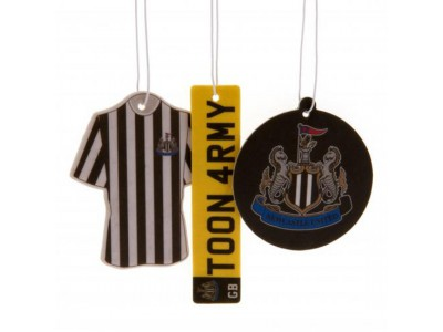 Newcastle United luftfrisker - NUFC 3 Pack Air Freshener