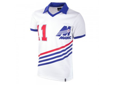 Montreal Manic 1981 Short Sleeve Retro Football Shirt