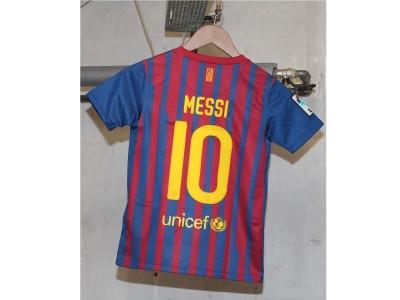 FC Barcelona hjemme trøje 2011/12 - børn - Messi 10