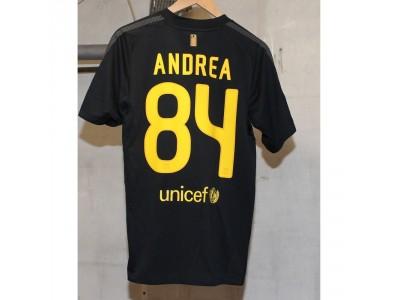 FC Barcelona ude trøje 2011/12 - Andrea 84