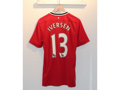 Manchester United hjemme trøje 2011/12 - Iversen 13