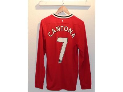 Manchester United hjemme trøje L/Æ 2011/12 - Cantona 7