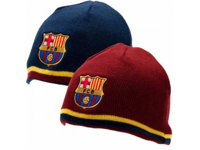FC Barcelona hue vendbar - Reversible Knitted Hat