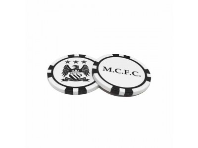 Manchester City - Poker Chip Ball Markers