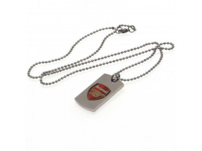 Arsenal hundesnor - AFC Colour Crest Dog Tag & Chain