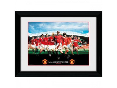 Manchester United billede - Picture Legends - 16 x 12 inches