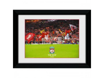 Liverpool FC billede - Picture The Kop 16 x 12 inches