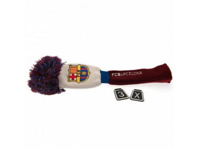 FC Barcelona Headcover Pompom (Fairway)