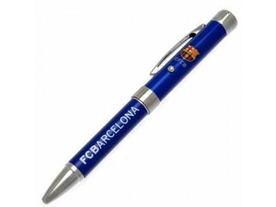 FC Barcelona kuglepen - Barca Metal Projector Pen BL