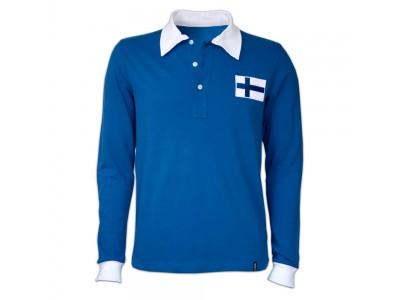 Finland 1955 retro trøje Lange Ærmer