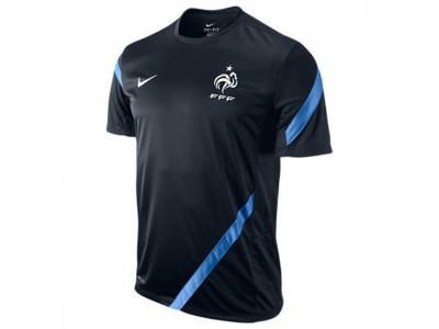 Frankrig træningstop EM 2012 mørkeblå